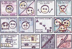 tekening autisme